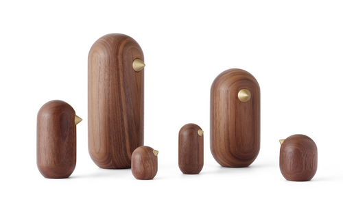 NORMANN COPENHAGEN | Little Bird Walnut (Multiple Sizes)