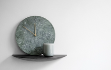 Load image into Gallery viewer, MENU | Marble Wall Clock (Multiple Colours Available)