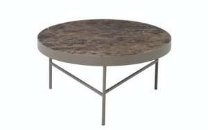 FERM LIVING | Marble Coffee Table - Brown Marble
