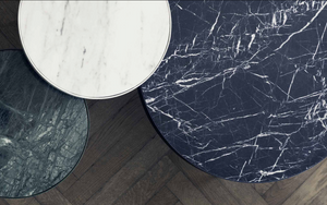 FERM LIVING | Marble Side Table - White Marble