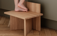 Load image into Gallery viewer, FERM LIVING | Oblique Stool Oak