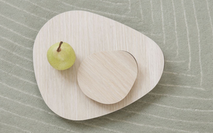 DELICA | Table Serving Trays Set (Set Of 2) - Oak