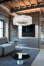 Load image into Gallery viewer, SLAMP LIGHTING | Accordéon Suspension Light - (Gold & Silver Available)