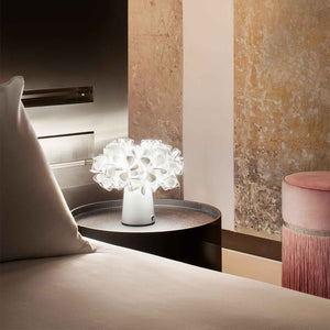 SLAMP LIGHTING | Clizia Fumé Table Lamp - Battery Powered