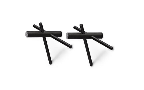 NORMANN COPENHAGEN | Sticks Hooks - 2 pcs (Multiple Colours Available)