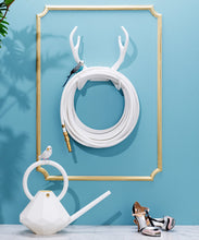 Load image into Gallery viewer, GARDEN GLORY | White Snake Wall Mount (Garden Hose Combinations)