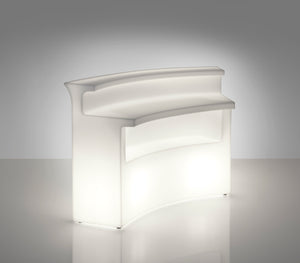 SLIDE DESIGNS |  T4 Configuration Modular Bar Illuminated (Indoor / Outdoor)