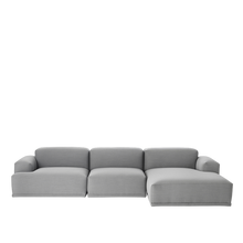 Load image into Gallery viewer, MUUTO | Connect Modular Sofa System - 3 Seat Lounge Configuration (Steelcut Trio 133)