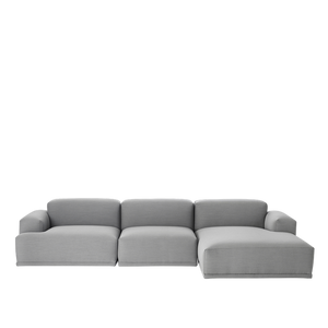 MUUTO | Connect Modular Sofa System - 3 Seat Lounge Configuration (Steelcut Trio 133)