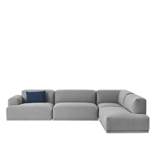 Load image into Gallery viewer, MUUTO | Connect Modular Sofa System - Corner Configuration (Steelcut Trio 133)