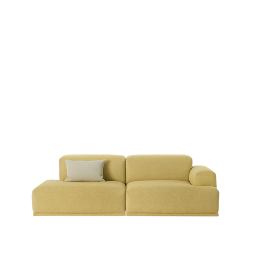 MUUTO | Connect Modular Sofa System - 2 Seat Open End Configuration (Multiple Colours Available)