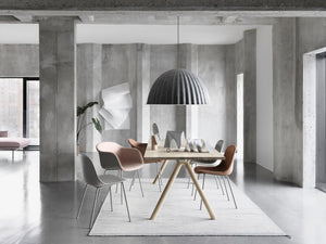 MUUTO | Under The Bell Pendant Lamp - Grey (Small/Large Available) EU Light