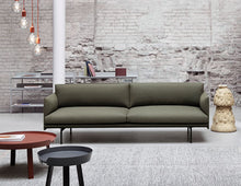 Load image into Gallery viewer, MUUTO | Outline Studio Sofa - 3 Seater Fiord 961 / Black