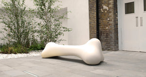 QEEBOO | Bonos Bench - Indoor / Outdoor (Available in Ivory & Dove Grey)