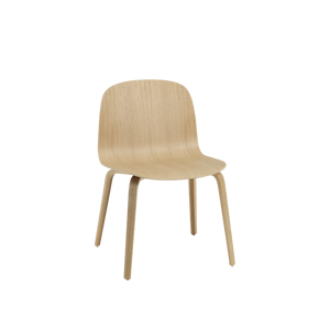 MUUTO | Visu Wide Chair - Wood Base (Oak)