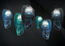 Load image into Gallery viewer, SLAMP LIGHTING | Avia Edition Suspension Lamp (Blue, Turquoise & Ultramarine)