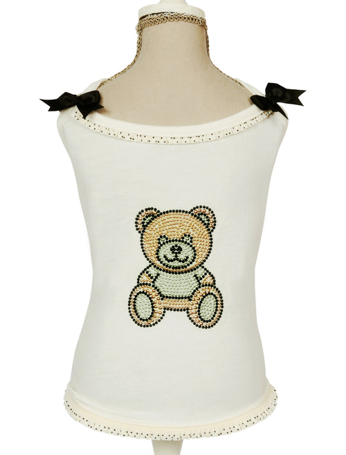 Camisole avec ourson Charlotte's Dress