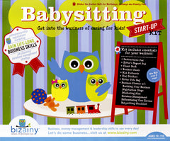 Babysitting Kit Front of Box