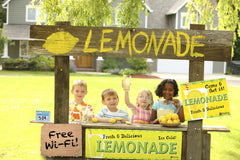 Kids with a Lemonade Stand