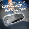 PIVOTRAX Dirt Bike Off-Road Motorcycle Tire Change Install Tool | Black |