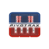 Tire Valve Stem Caps w/ Core Remover and Valve Cores (Set of 2 Caps and 4 Cores) - Pivotrax Dirt Bike Tires