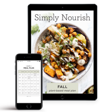 Load image into Gallery viewer, Simply Nourish Fall Meal Plan (DIGITAL)