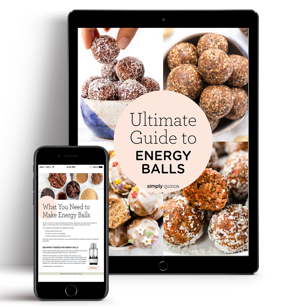 Energy Ball Cookbook