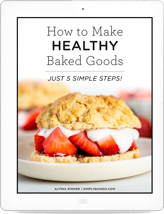 Healthy Baking Guide