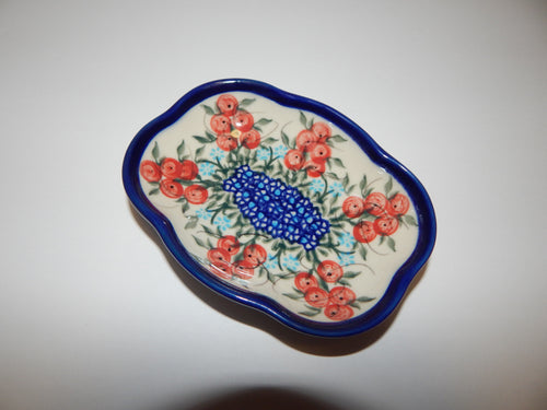 Soap Dish- Red Berries