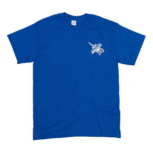 Shaking Hands Tee - Blue