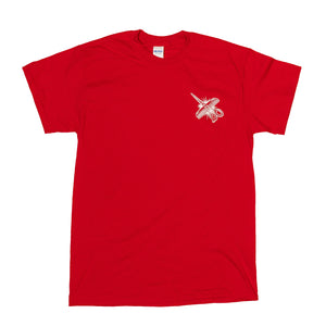 Shaking Hands Tee - Red