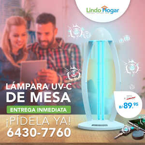 Lámpara UV-C de mesa