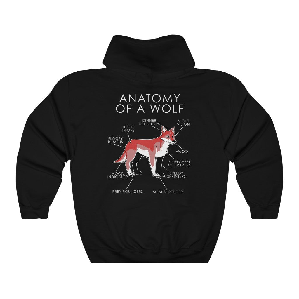 Anatomy of a Wolf (Red)