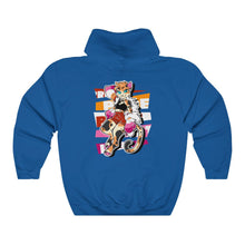 Load image into Gallery viewer, Jessica The Lesbian Pride Cat - Hoodie