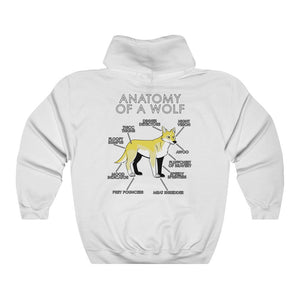 Anatomy of a Wolf (Yellow)