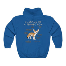 Load image into Gallery viewer, Anatomy of a Fennec (Orange)