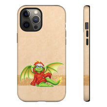 Load image into Gallery viewer, Green Hoodie Dragon by Sabrina Bolivar