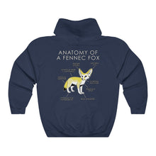 Load image into Gallery viewer, Anatomy of a Fennec (Yellow)