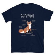 Load image into Gallery viewer, Anatomy of a Fox (Orange)
