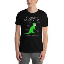 Load image into Gallery viewer, Anatomy of an otter (Green)