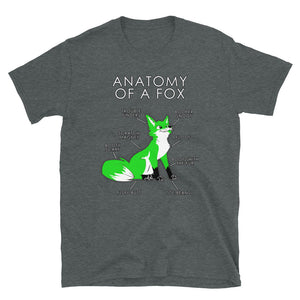 Anatomy of a Fox (Green)