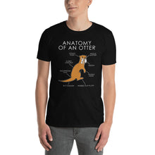 Load image into Gallery viewer, Anatomy of an otter (Orange)