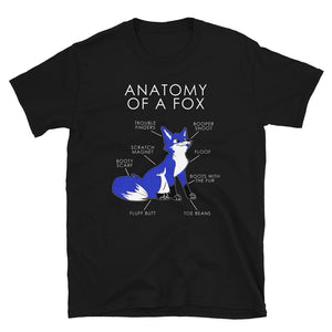 Anatomy of a Fox (Blue)