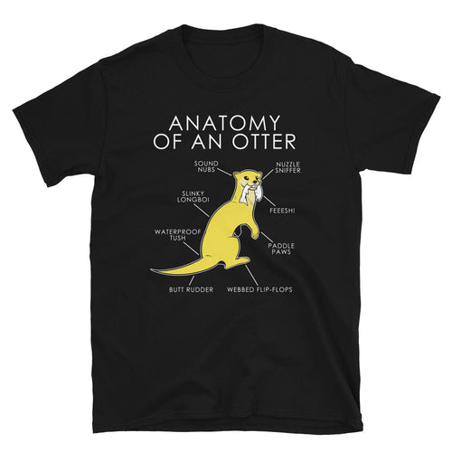 Anatomy of an otter (Yellow)