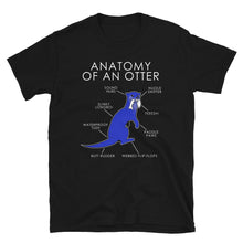 Load image into Gallery viewer, Anatomy of an otter (Blue)
