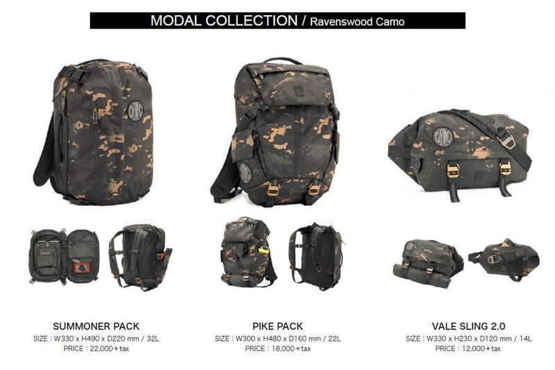 FEATURED PRODUCT「MODAL COLLECTION / Ravenswood Camo」