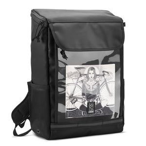 VOLCAN BACKPACK BAGS chromeindustries BLACK CLEAR TARP