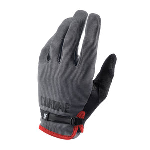CYCLING GLOVES ACCESSORIES chromeindustries GREY/BLACK S