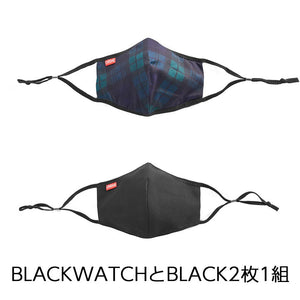 CHROME MASK PACK CLOTHING chromeindustries BLACK/BLACKWATCH XS/S
