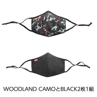 CHROME MASK PACK CLOTHING chromeindustries WOODLAND CAMO/BLACK XS/S